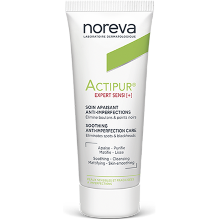 Actipur expert sensi+ soin apaisant anti-imperfections 40ml Noreva-227373