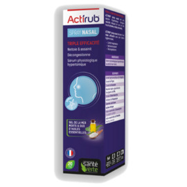 Actirub spray nasal 20ml - sante verte -197595