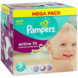 Active fit 11-25kg taille 5 - 68 couches - pampers -205381