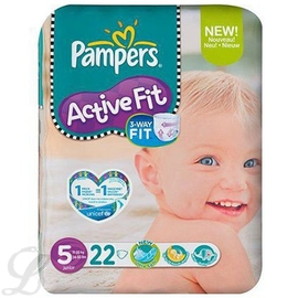 Active fit - taille 5 - pampers -144408