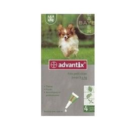 Advantix très petit chien 1.5 à 4kg - 4 pipettes - 2.0 ml - bayer -145760
