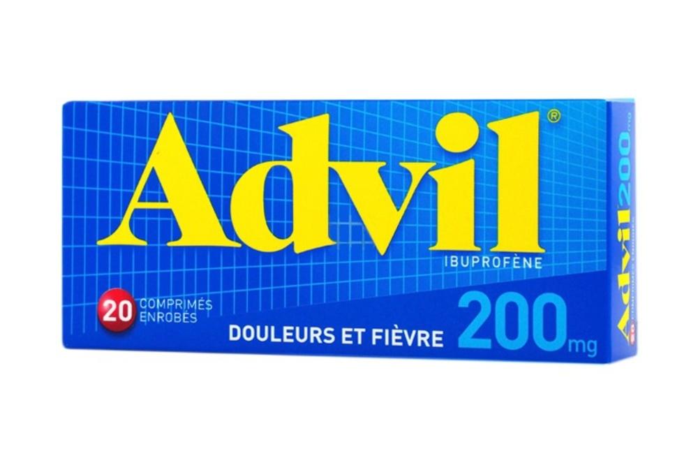 Advil 200mg - 20 comprimés Pfizer-192952