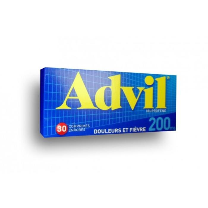 Advil 200mg - 30 comprimés Pfizer-206896