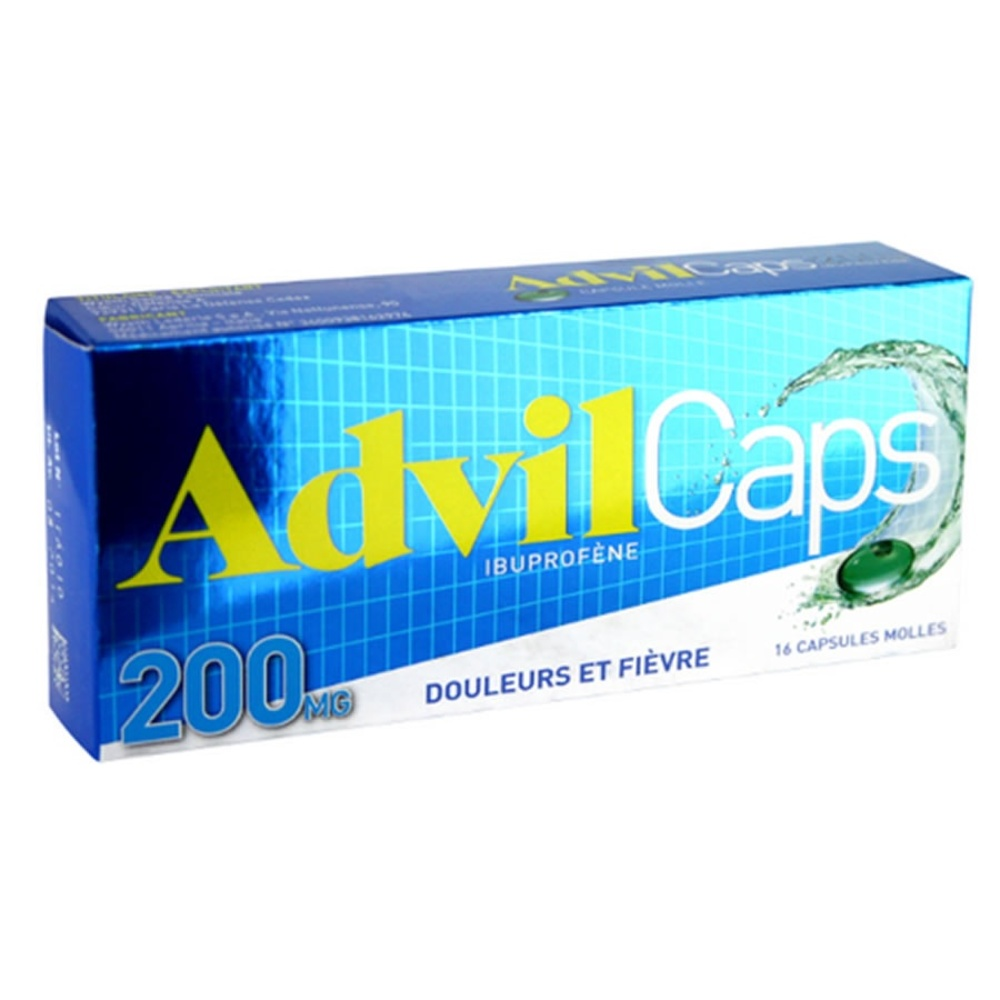 Advilcaps 200mg - pfizer -192711