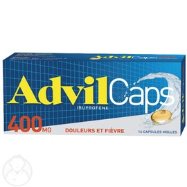 ADVILCAPS 400mg - PFIZER -206824