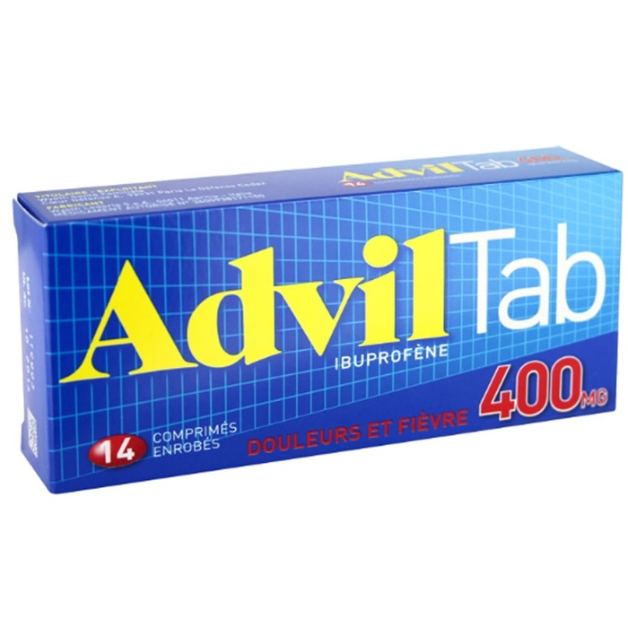 Adviltab 400mg Pfizer-192508
