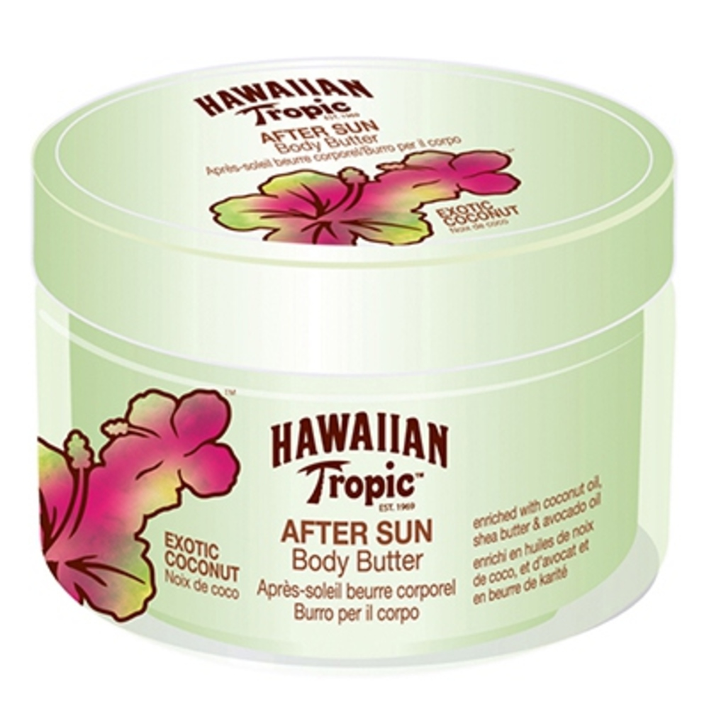 After sun body butter exotic coconut - hawaiian tropic -195167