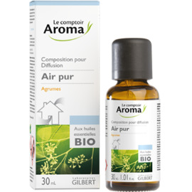 Air pur composition pour diffusion agrumes 30ml - le comptoir aroma -221991