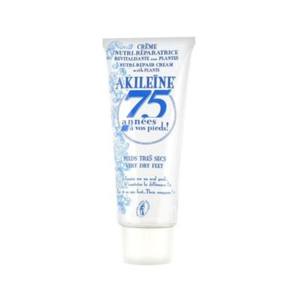 Akileine crème nutri-réparatrice pieds très secs 75ml - akileïne -221714
