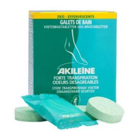 Akileine galets de bain deo-effervescents x7 - akileïne -118743