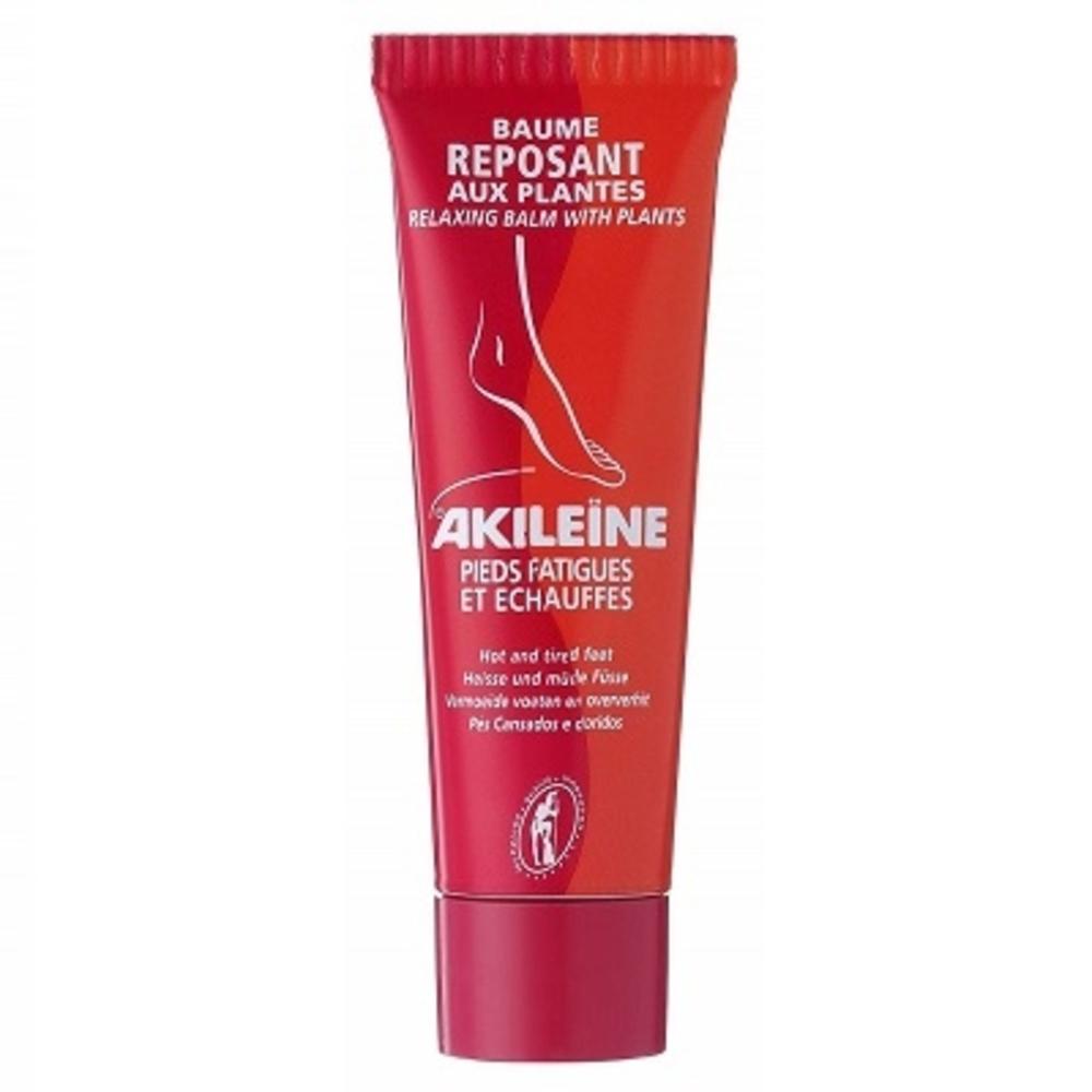 Akileine rouge gel fraîcheur vive - 125.0 ml - pieds fatigués et echauffés - akileïne Délasse, rafraîchit les pieds échauffés-7424