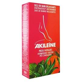 Akileine sels de bain délassants - 300.0 g - pieds fatigués et echauffés - akileïne Aseptisent et désodorisent l'épiderme-7422