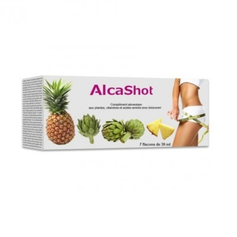 Alcashot - 7 fioles - alcashot -202538