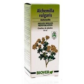 Alchemilla vulgaris (alchemille) bio - 50.0 ml - gouttes de plantes - teintures mères - biover Fonction intestinale normalisée-8948