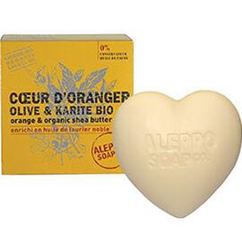 Aleppo soap savon d'alep coeur d'oranger olive & karité bio 200g - aleppo-soap -225979