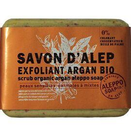 Aleppo soap savon d'alep exfoliant argan bio 100g - aleppo-soap -225985