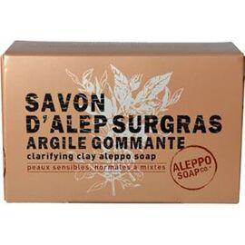 Aleppo soap savon d'alep surgras argile gommante 150g - aleppo-soap -225990
