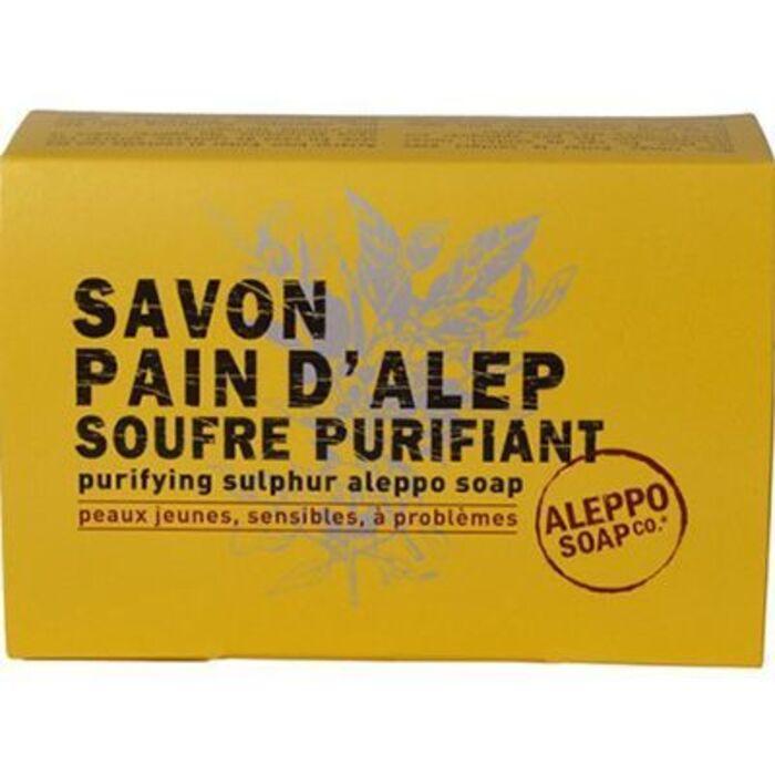 Aleppo soap savon d'alep surgras soufre purifiant 150g Aleppo soap-225983