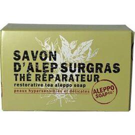 Aleppo soap savon d'alep surgras thé réparateur 150g - aleppo-soap -225991