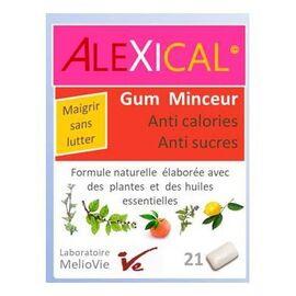 Alexical gum minceur anti calories anti sucres x21 - alexical -221849