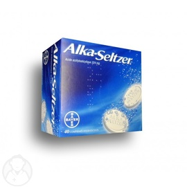 ALKA SELTZER 324mg - 40 comprimés effervescents - BAYER -192965