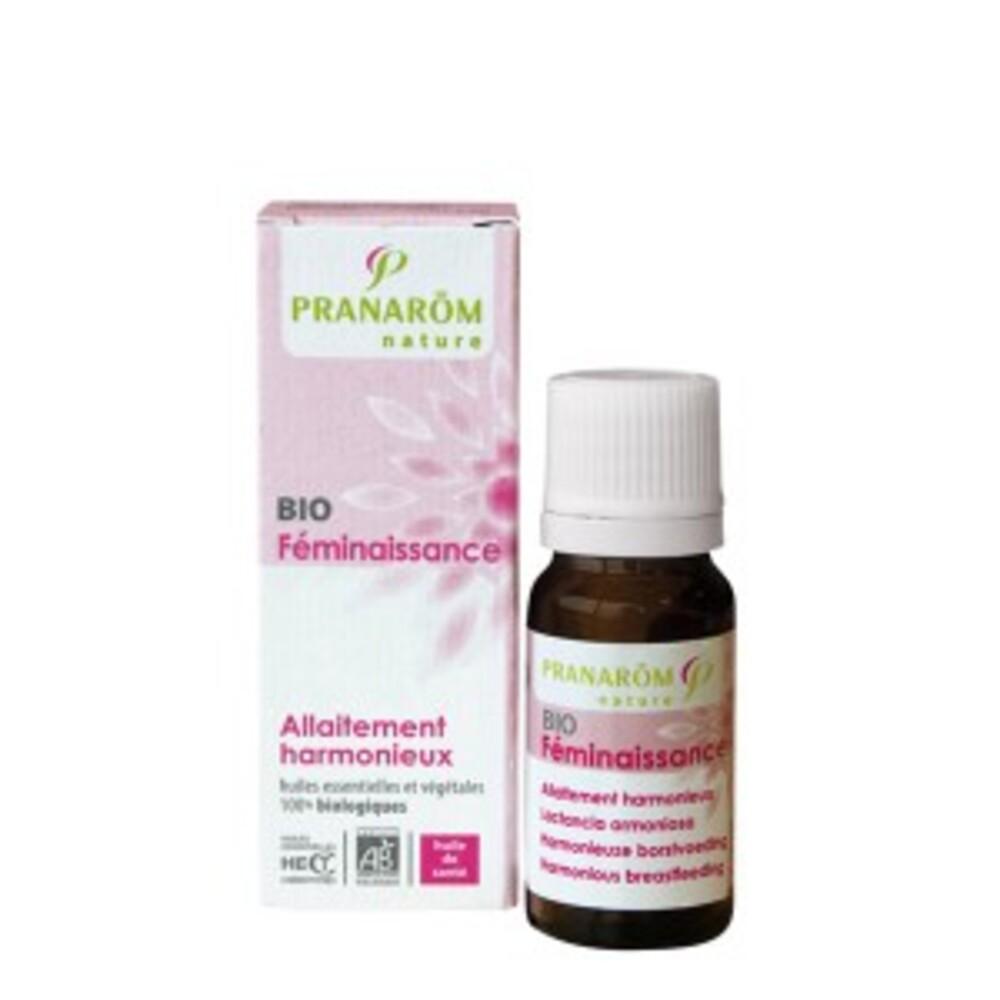 Allaitement harmonieux bio - 5.0 ml - grossesse et maternité - pranarom Montée de lait - pour un allaitement sans soucis-12358