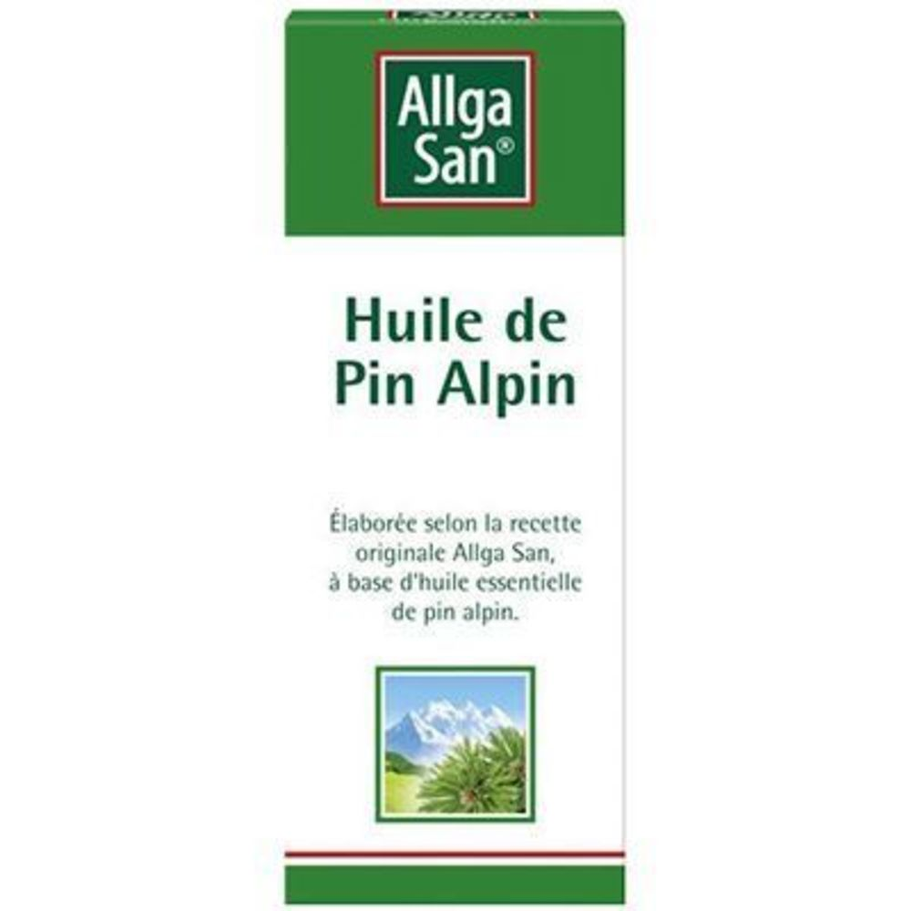 ALLGA SAN Huile de Pin Alpin 10ml - Allga San -219068