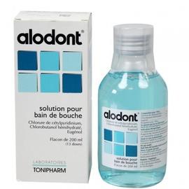 Alodont solution pour bain de bouche - 200.0 ml - laboratoires tonipharm -192453
