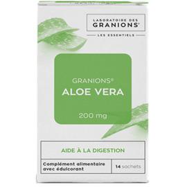 Aloe vera 200mg 14 sachets - granions -223520