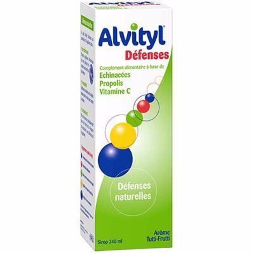 ALVITYL Défenses Sirop 240ml - 240.0 ML - Alvityl -147861