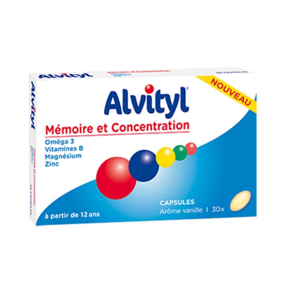 ALVITYL Mémoire et Concentration - Alvityl -148522