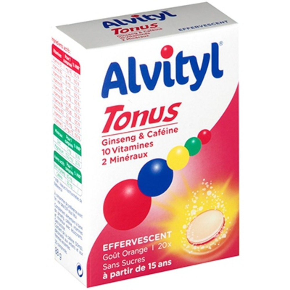 ALVITYL Tonus Effervescent - Alvityl -148120