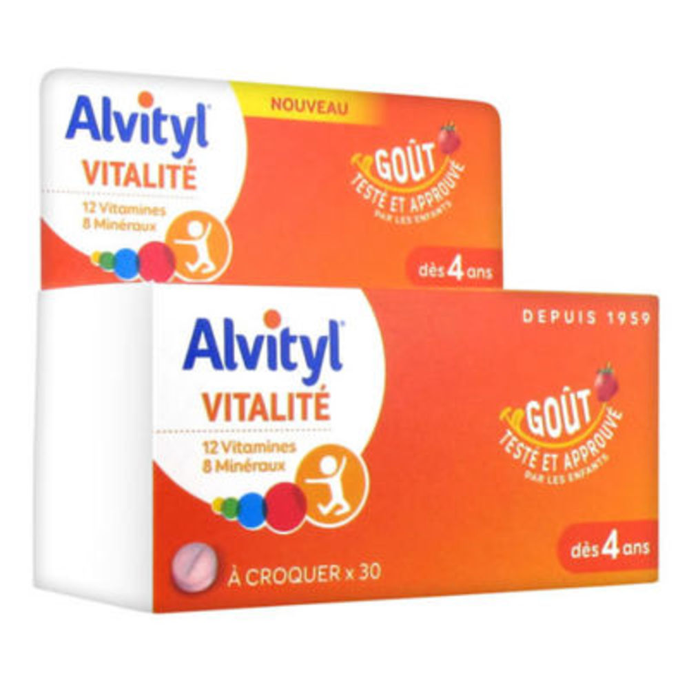 ALVITYL Vitalité 30 comprimés à croquer - Alvityl -147996