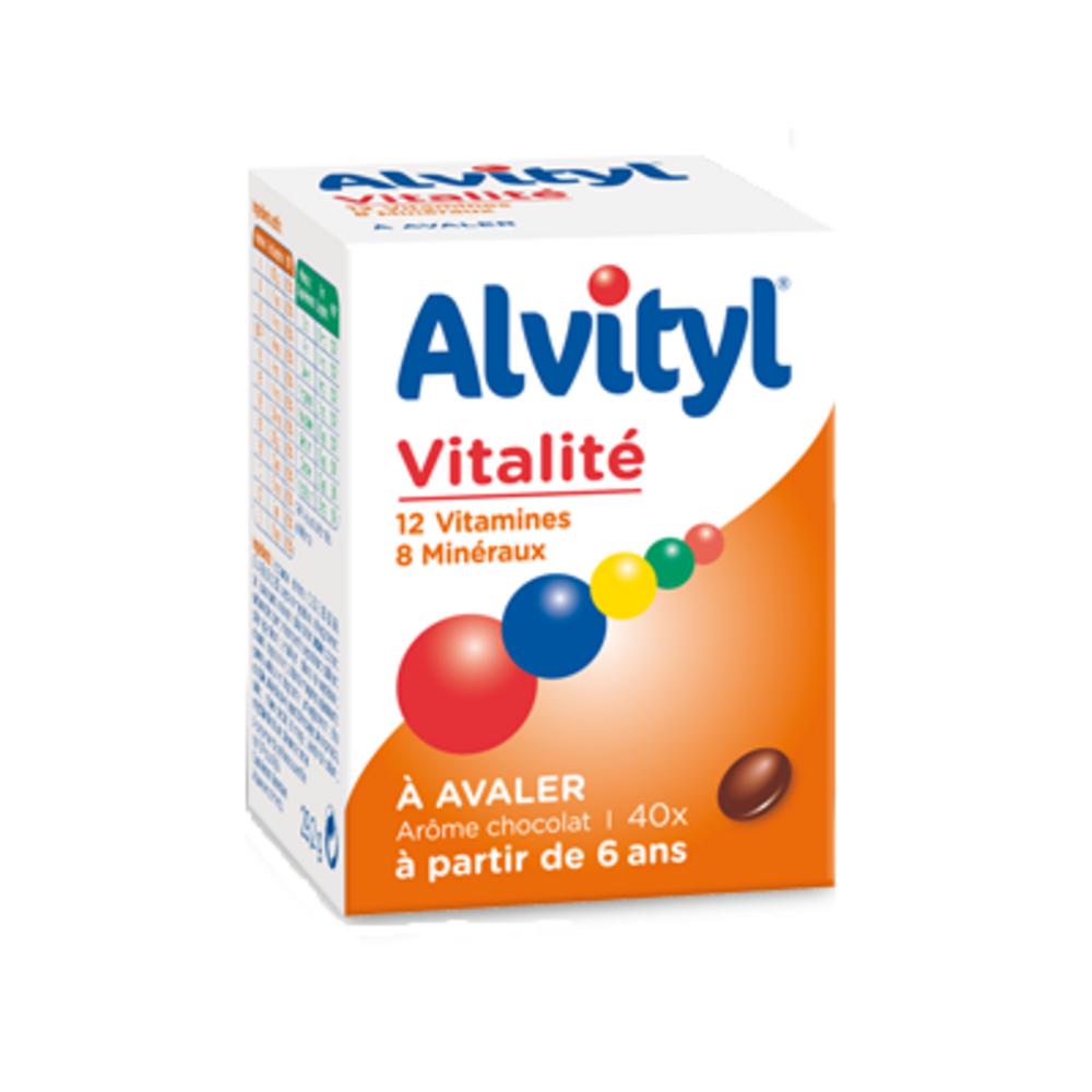 ALVITYL Vitalité - 40 comprimés à Avaler - Alvityl -147725
