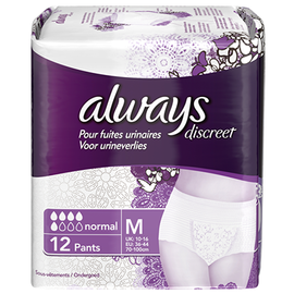 Always discreet sous-vêtements normal - taille m - always -201067