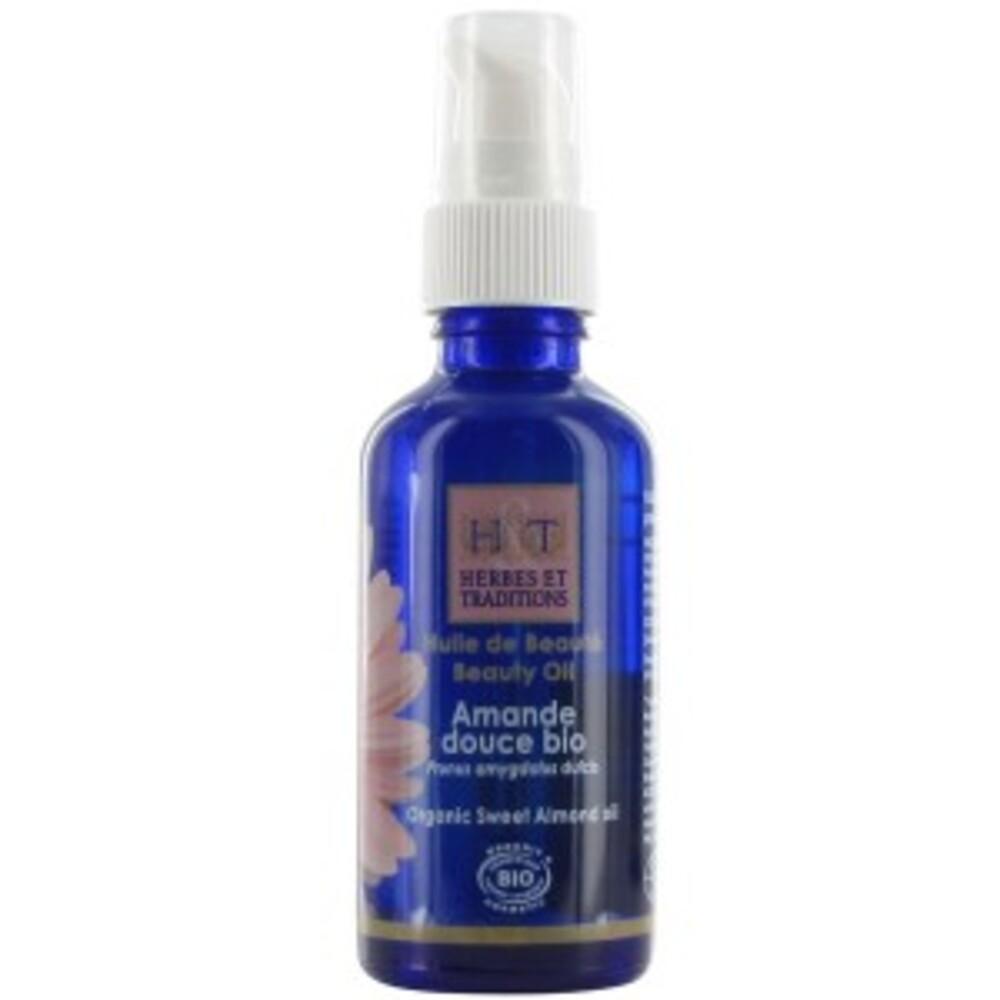 Amande douce bio - 50.0 ml - huiles végétales - herbes et traditions Apaisante, contre les vergetures-2039