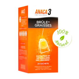Anaca 3 infusion brûle-graisses 24 sachets - anaca 3 -225410