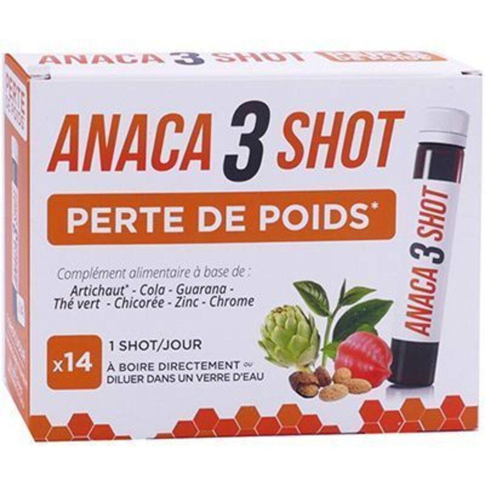 Anaca 3 perte de poids 14 shots - anaca 3 -225602