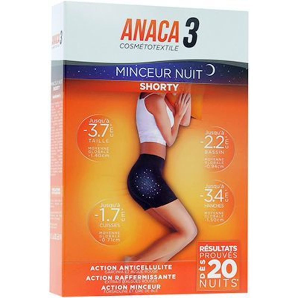 ANACA 3 Shorty Minceur Nuit Taille L/XL - Anaca 3 -221628