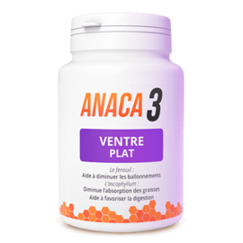 Anaca 3 ventre plat 60 gélules - anaca 3 -213537