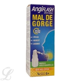 Angiflash mal de gorge spray - 20.0 ml - laboratoire de la mer -210398