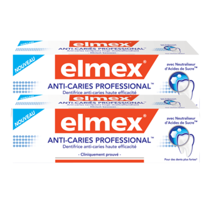 Anti-caries professional - lot de 2 Elmex-203790