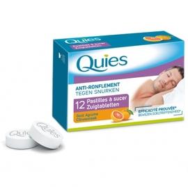Anti-ronflement 12 pastilles à sucer agrume - quies -195736
