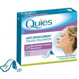 Anti-ronflement bandelettes nasales grand modèle - quies -145213