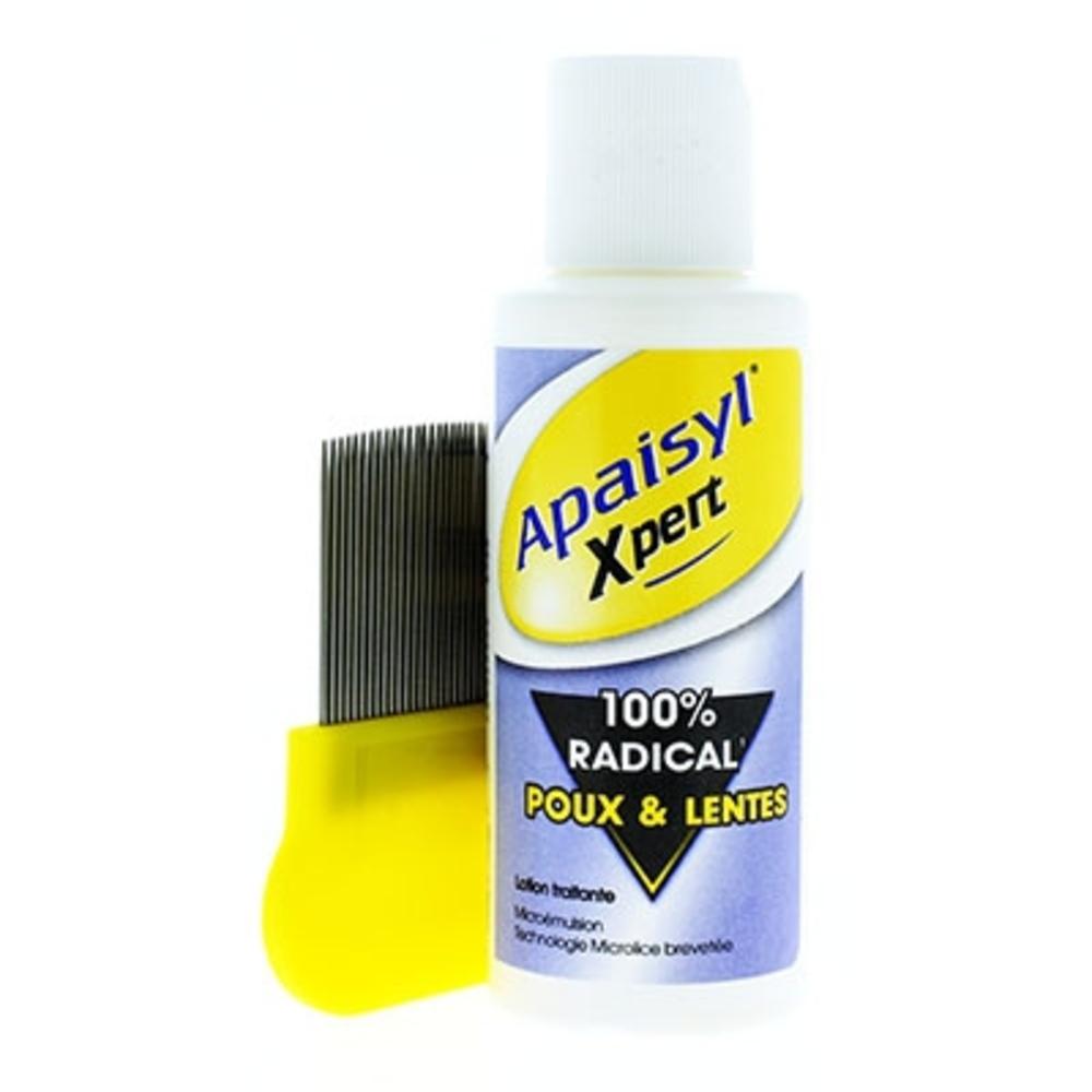 Apaisyl xpert poux et lentes - 100.0 ml - apaisyl -146549