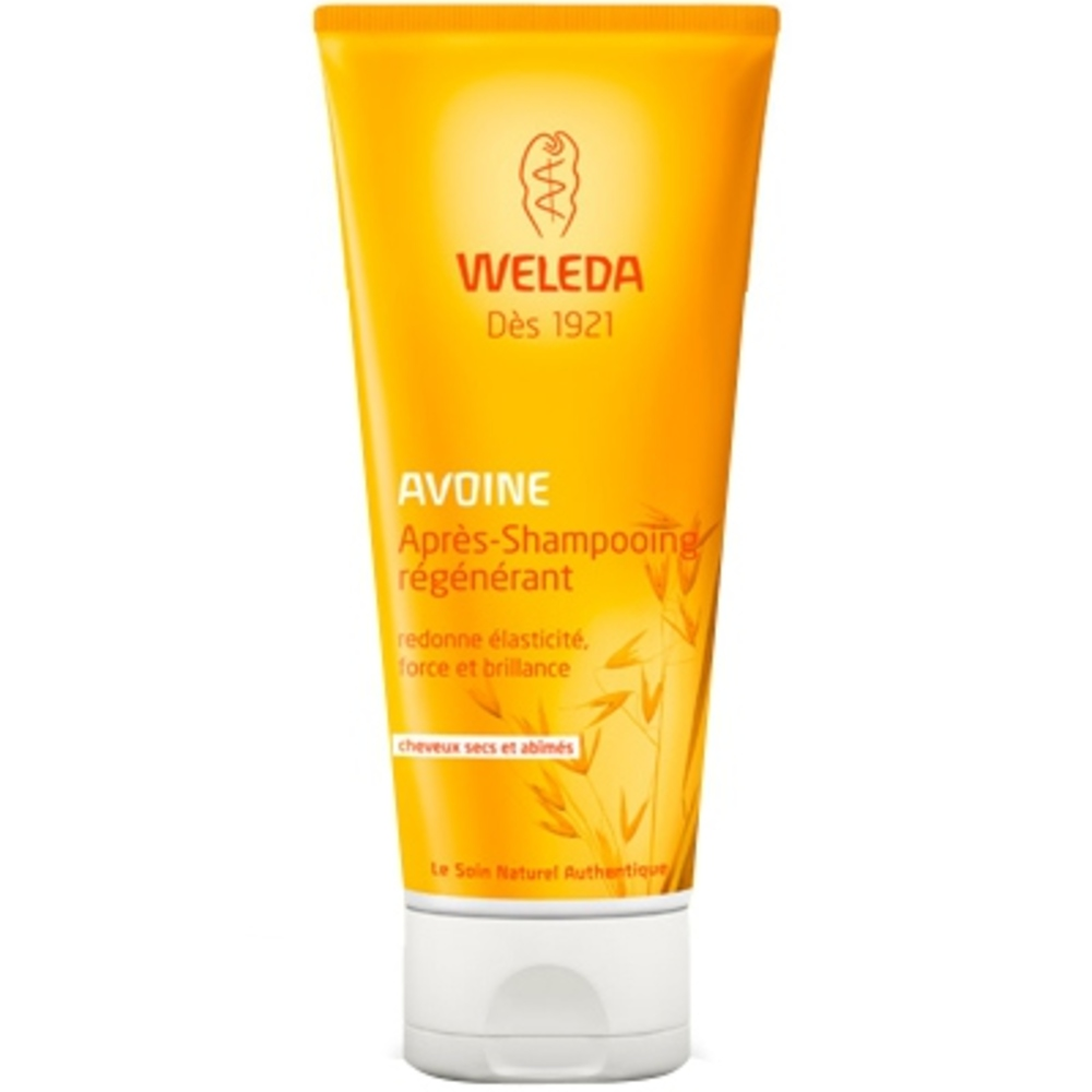 Après-shampooing régénérant à l'avoine - 200.0 ml - capillaires - weleda Redonne élasticité, force et brillance-140620
