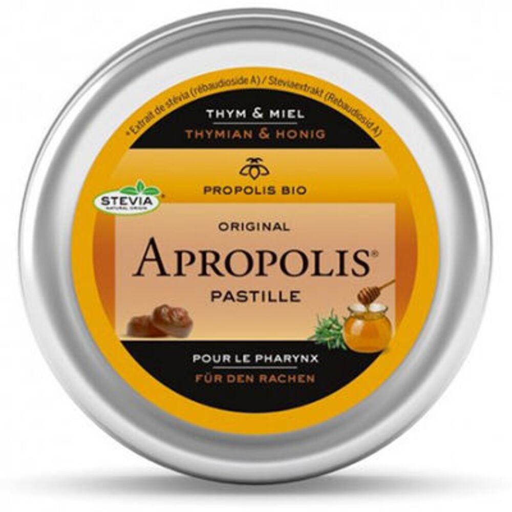 Apropolis pastilles thym & miel larynx 40g - apropolis -225343