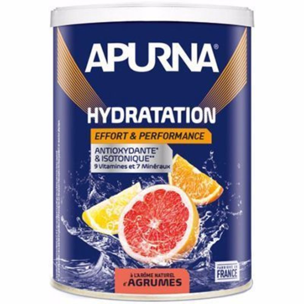 Apurna boisson hydratation agrûmes pot 500g - apurna -216653