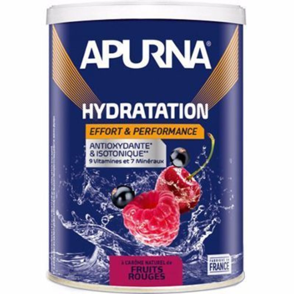 Apurna boisson hydratation fruits rouges pot 500g - apurna -216656
