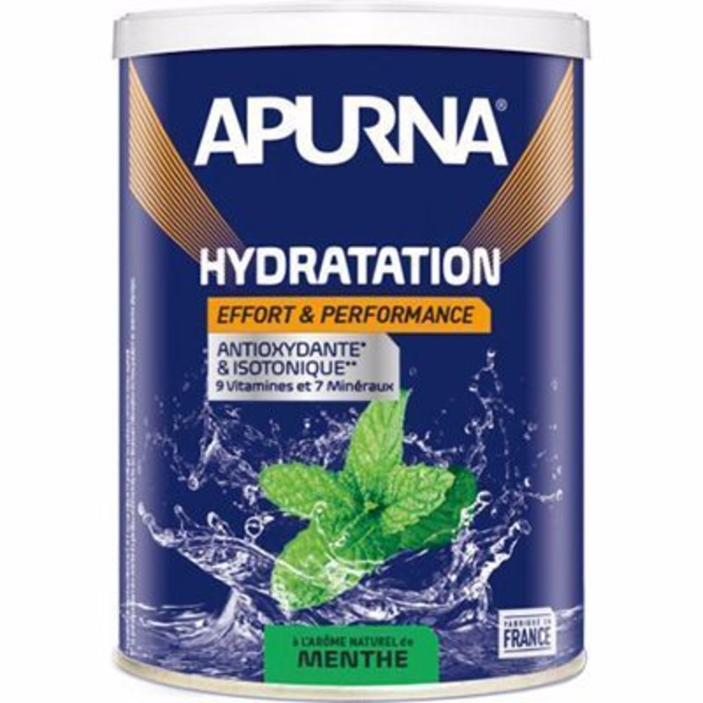 Apurna boisson hydratation menthe pot 500g - apurna -216657